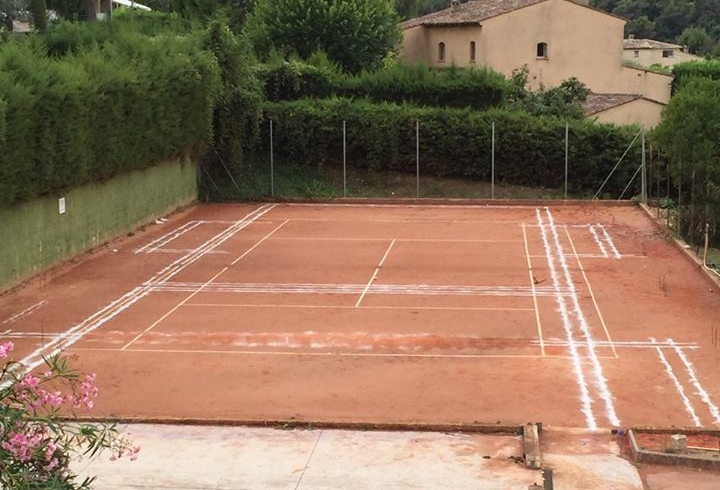 Conversion terrain tennis padel